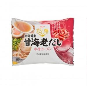 拉麵 - 北海道海老味噌湯