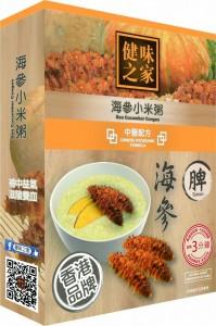 海參小米粥